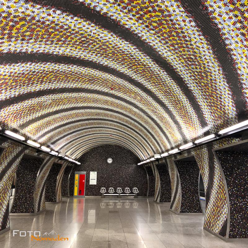 Budapest Fotografie Tipps Fotonomaden U-Bahn Gellert ter