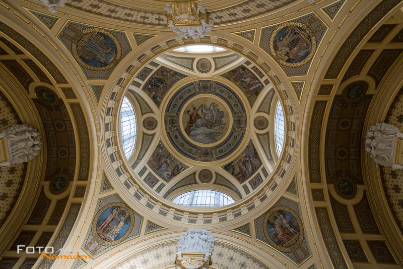Budapest Fotografie Tipps Fotonomaden Szechenyi Bad Decke