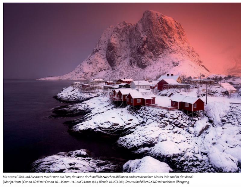 Praxisbuch außergewöhnliche Naturfotografie Lofoten