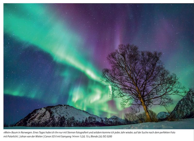 Praxisbuch außergewöhnliche Naturfotografie Polarlicht