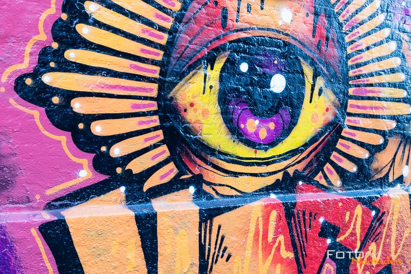 Kopenhagen Freistadt Christiania Graffiti Fotonomaden