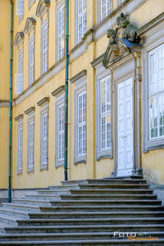 Detail Schloß Frederiksberg Kopenhagen Städtereise