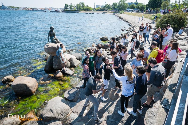Fotonomaden Städtereise Kopenhagen Touristen