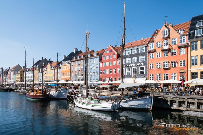 Nyhavn Häuserzeile Kopenhagen Städtereise