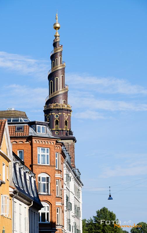 Turm Our Saviour's Church Kopenhagen Fotoreise