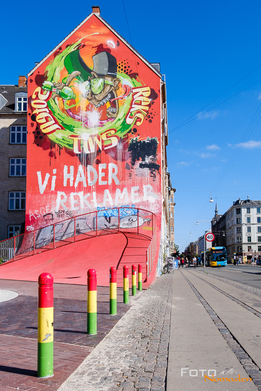 Kopenhagen Städtereise Fotospot Superkilen Streetart