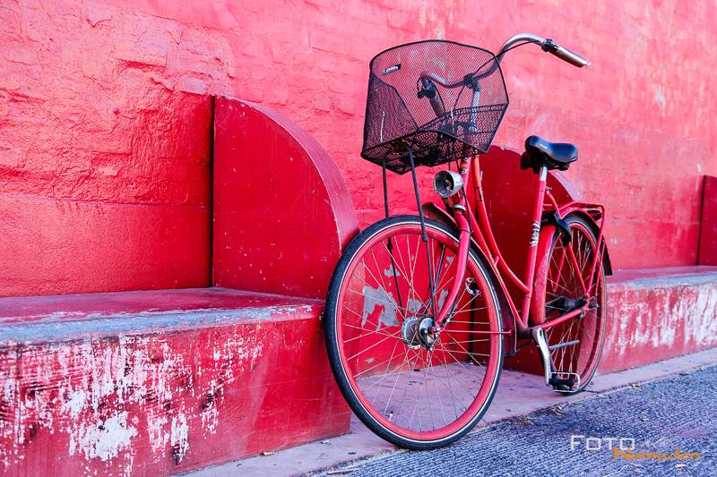 Städtereise Kopenhagen Fotospot Superkilen Fahrrad