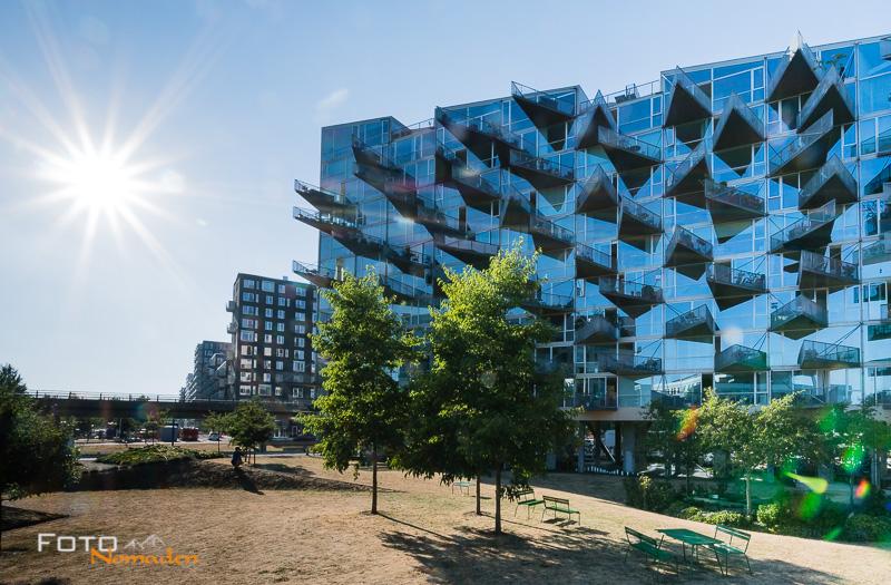 VM Houses in Ørestad, Kopenhagen Städtereise