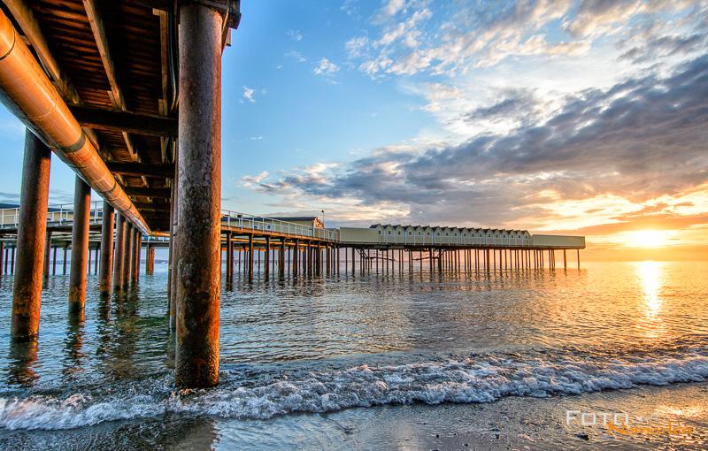 Fototipps für Anfänger - Steg mit Häuschen am Strand