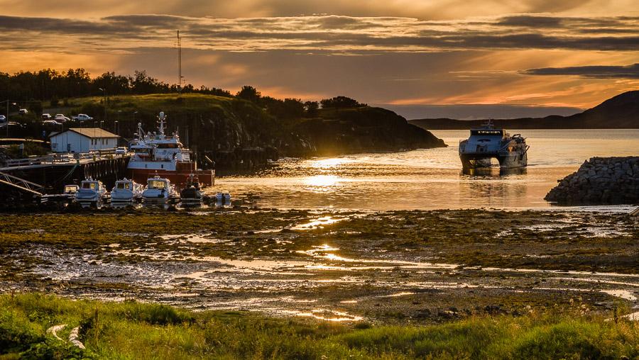Sonnenuntergang Kystriksveien/Norwegen Fotonomaden.com