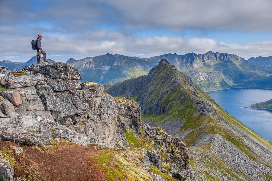 Aussicht vom Hesten - Senja/Norwegen Fotonomaden.com