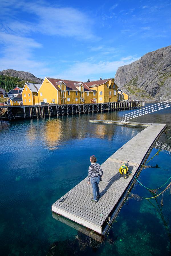 Nusfjord auf den Lofoten in Norwegen - Fotonomaden