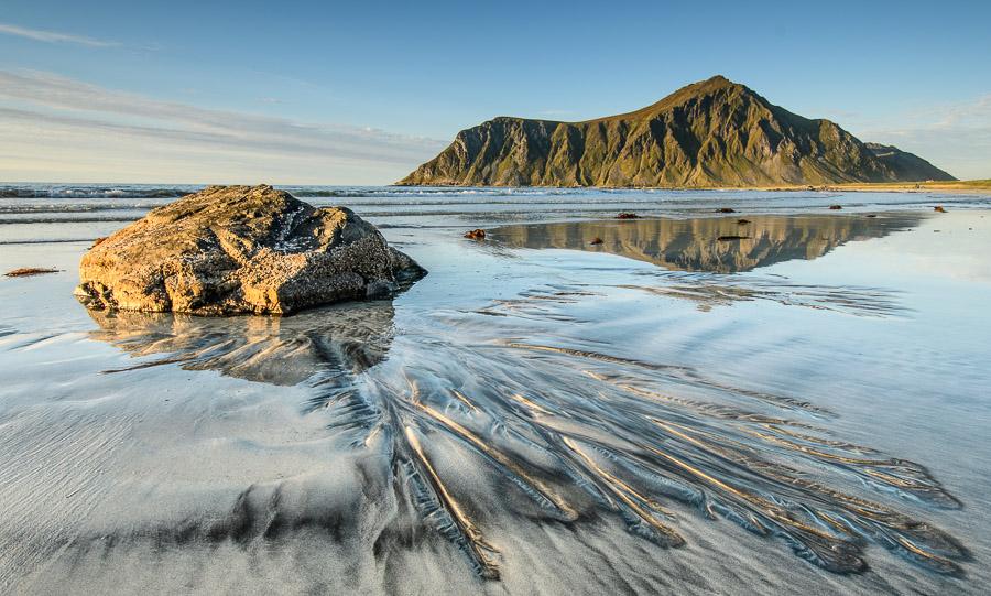 Skagsanden Beach - Flakstad/Lofoten/Norwegen Fotonomaden.com