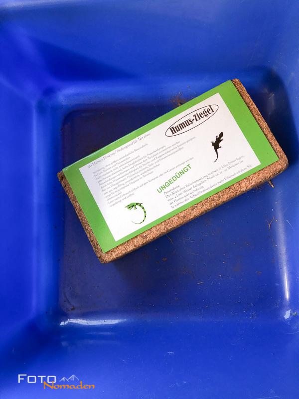 Kompostziegel aus Kokosfaser