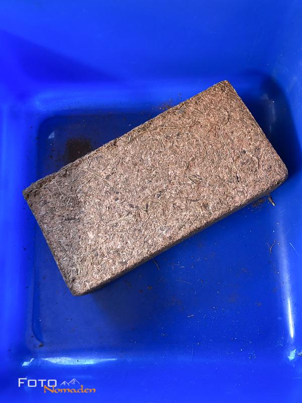 Kokosfaster Kompostziegel