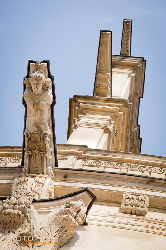 Paris Fotospot: Saint Eustache Kirche Detail der Fassade