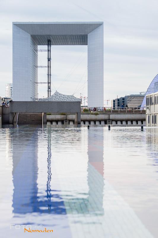 Paris Fotospot: La Grand Arche in La Défense, Puteaux