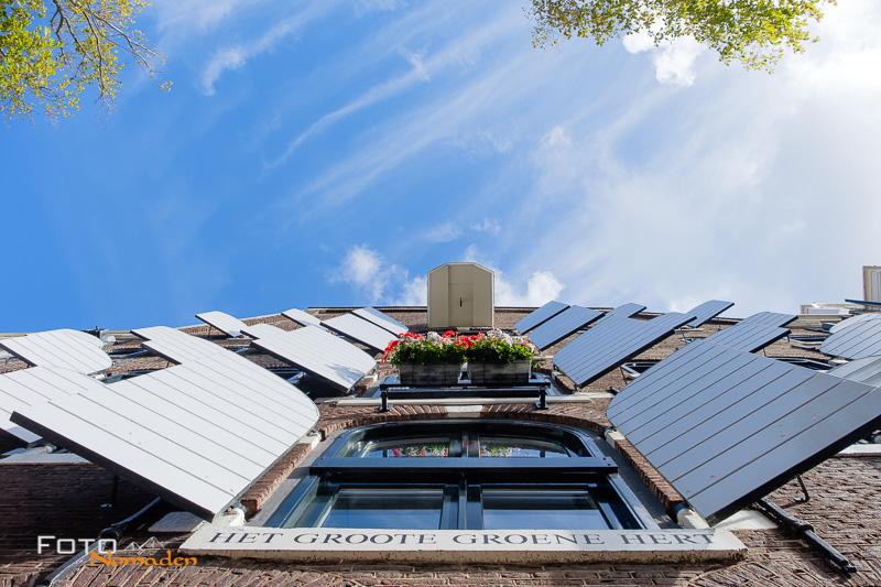 Städte fotografieren: Blick nach oben in Amsterdam - Fotonomaden