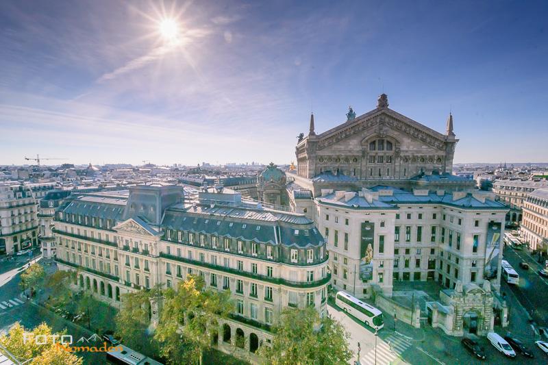 Städte fotografieren - Blick auf Paris