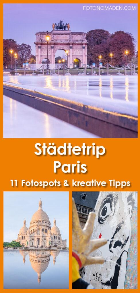 Städtetrip Paris - die schönsten Fotospots