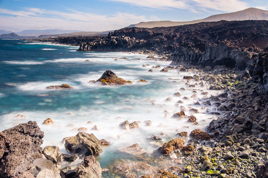 Lavaküste bei Tenesar, Lanzarote