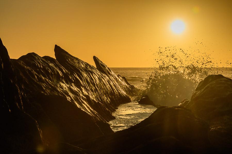Sonnenuntergang, El Golfo, Lanzarote