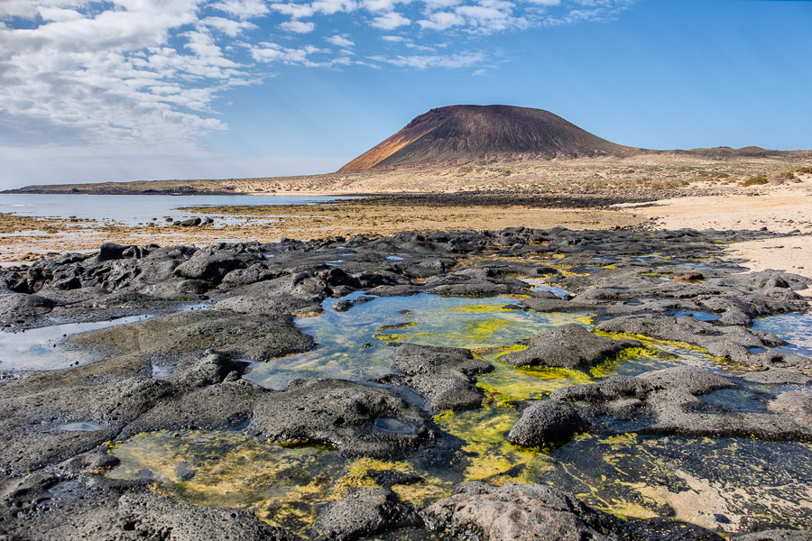 Montaña Amarilla - La Graciosa - bei Lanzarote