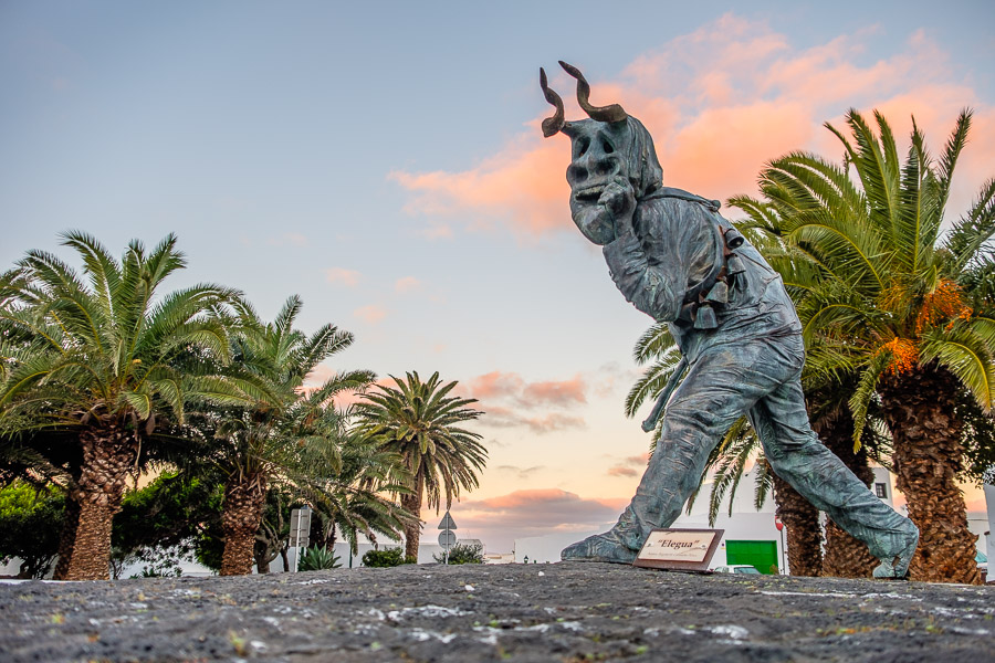 Statue Diabletes de Teguise, Lanzarote