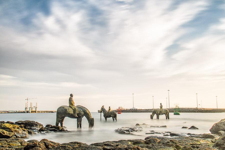 Rising Tide Installation, Lanzarote