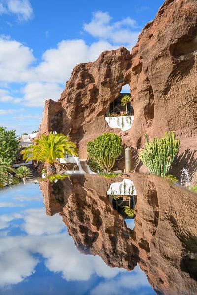 Lagomar Spiegelung, Lanzarote