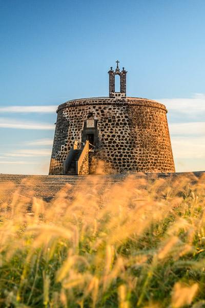 Castillo de las Coloradas, Lanzarote
