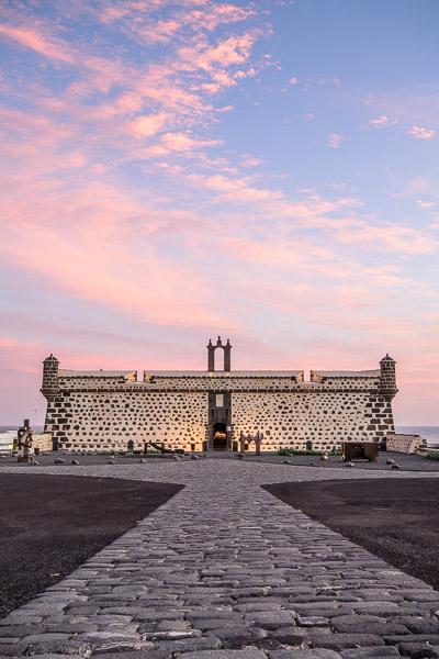 Castillo de San José, Sonnenuntergang, Lanzarote