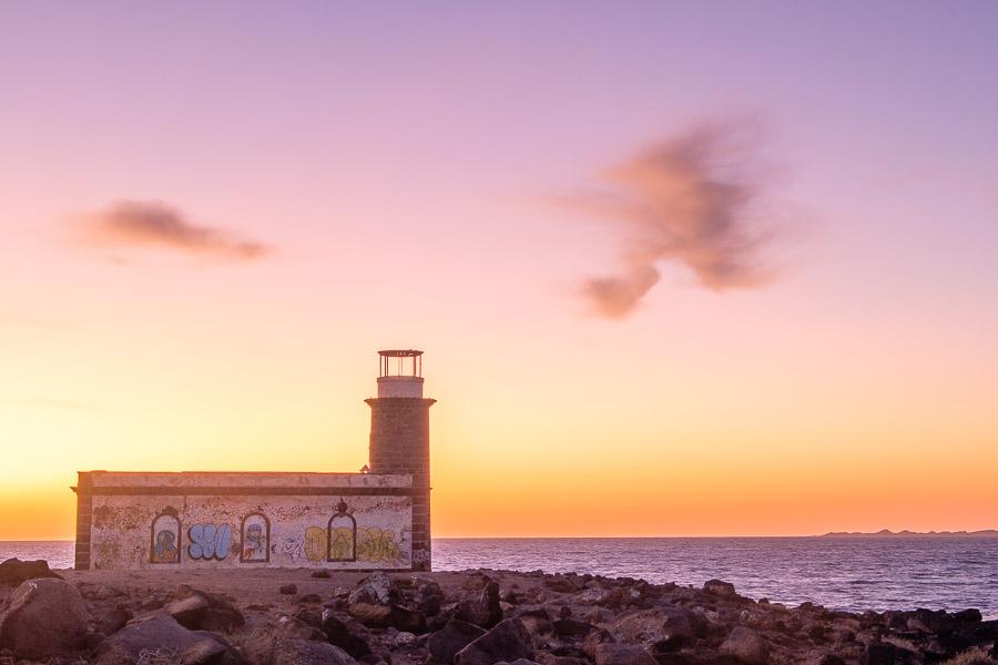 Alter Leuchtturm von Pechiguera, Lanzarote