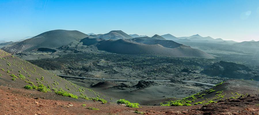 Vulkane im Timanfaya Nationalpark auf Lanzarote