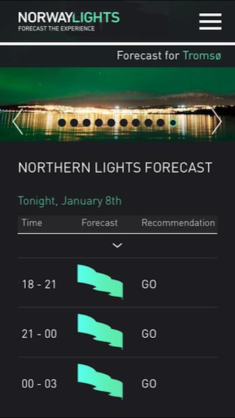 Nordlicher App