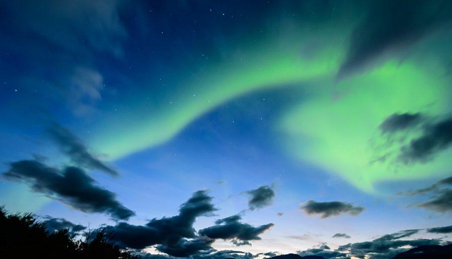Nordlichter sehen in Schweden