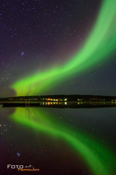 Nordlichter sehen in Finnland