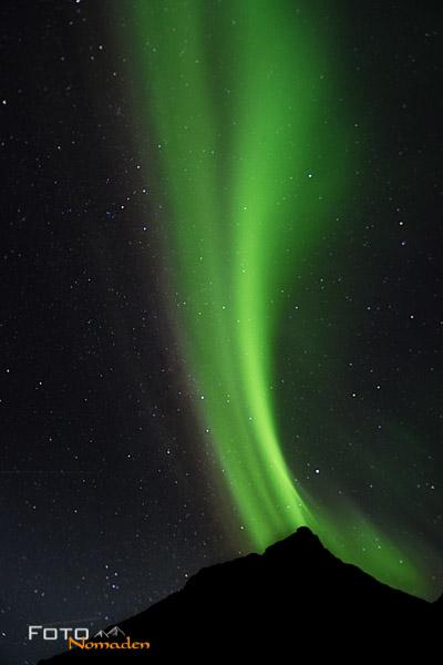 Nordlichter sehen in Norwegen