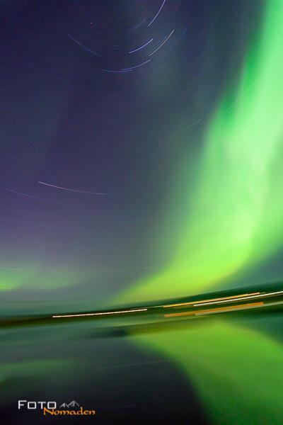 Nordlichter fotografieren - unscharfe Fotos