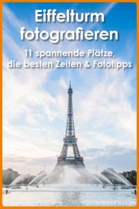 Eiffelturm fotografieren