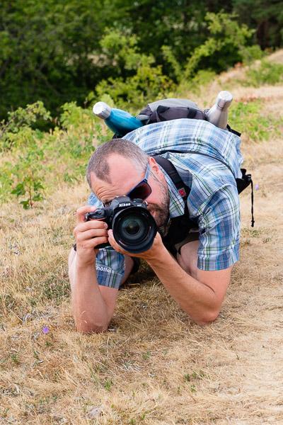 Am Boden fotografieren