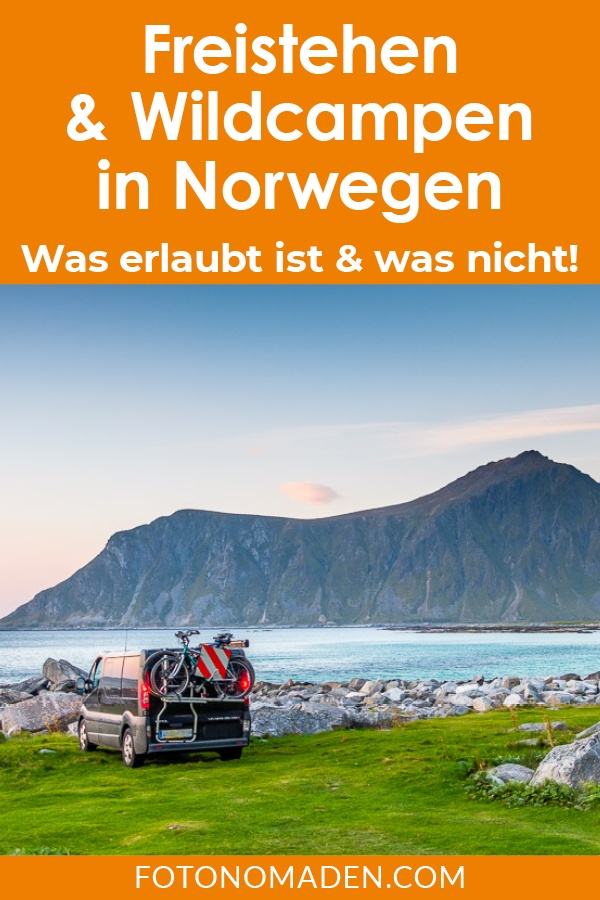 Freistehen in Norwegen