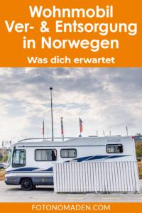 Wohnmobil Ver- und Entsorgung in Norwegen