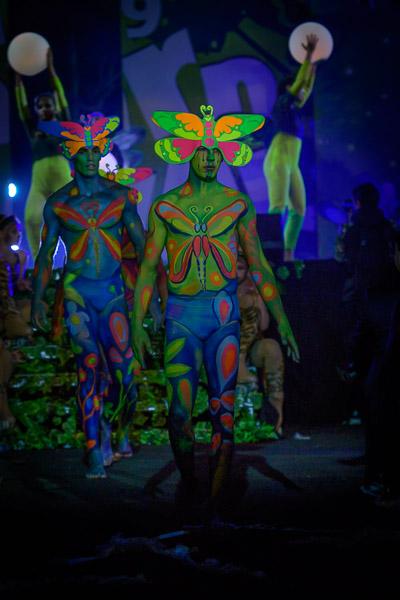 Eventfotografie Karneval Bühnenshow in Los Christianos auf Teneriffa - Fotonomaden