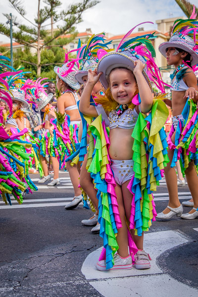 Eventfotografie: Kinderporträt Karneval - Fotonomaden
