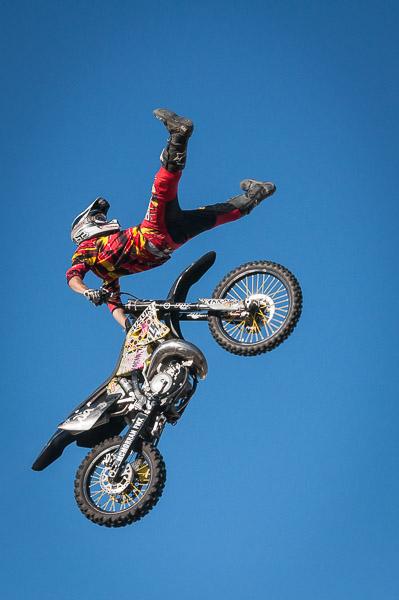 Eventfotografie Motocross Artist in der Luft - Fotnomaden
