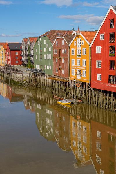 Trondheim Bryggene Speicherhäuser, Norwegen - Fotonomaden