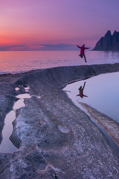Tungeneset auf Senja bei Sonnenuntergang - Fotonomaden