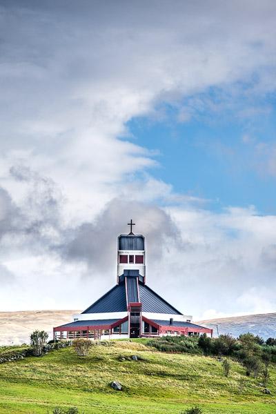 Kirche in Borg, Norwegen - Fotonomaden