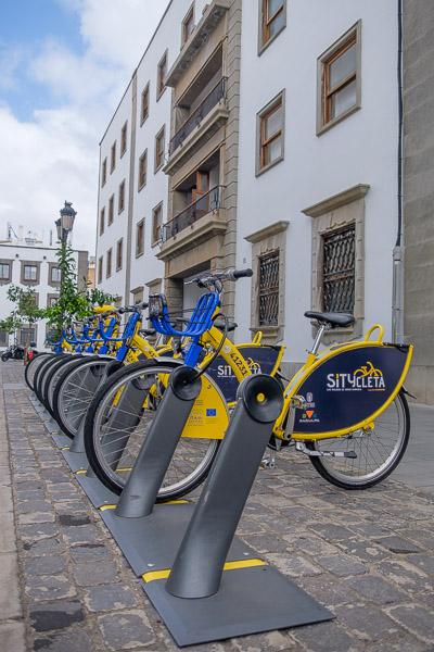 Mit dem Citybike in der Stadt unterwegs